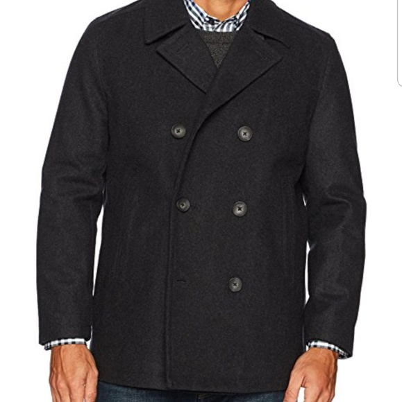 Old Navy Other - Mens Old Navy Charcoal Grey Peacoat Small